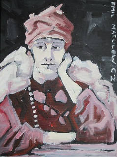 portret vrouw met tulband